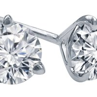 Why Diamond Studs Might Be a Girl's Real Best Friend