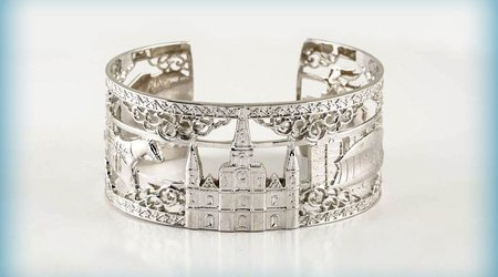 The most unique NOLA gift you can find - the NOLA Bracelet from Ramsey's!