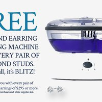 Free diamond cleaning machine