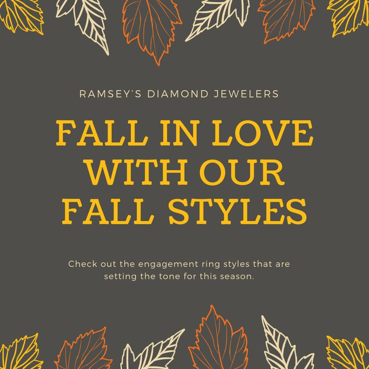 The most popular Fall 2018 Engagement Ring Styles that you will fall in love with!