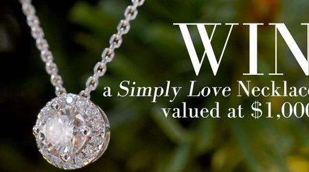 Win a Simply Love Diamond Necklace to Celebrate Our Grand Opening