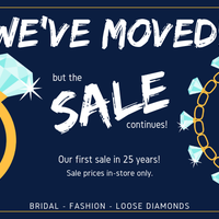 We've moved but the sale continues