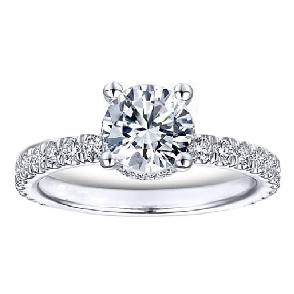 Side-Stone Engagement Rings
