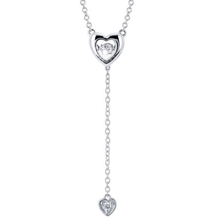 drop of life heart necklace