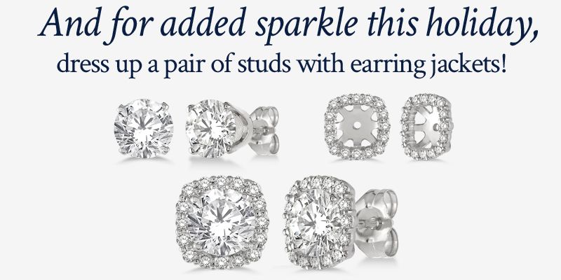 shop diamond earring jackets