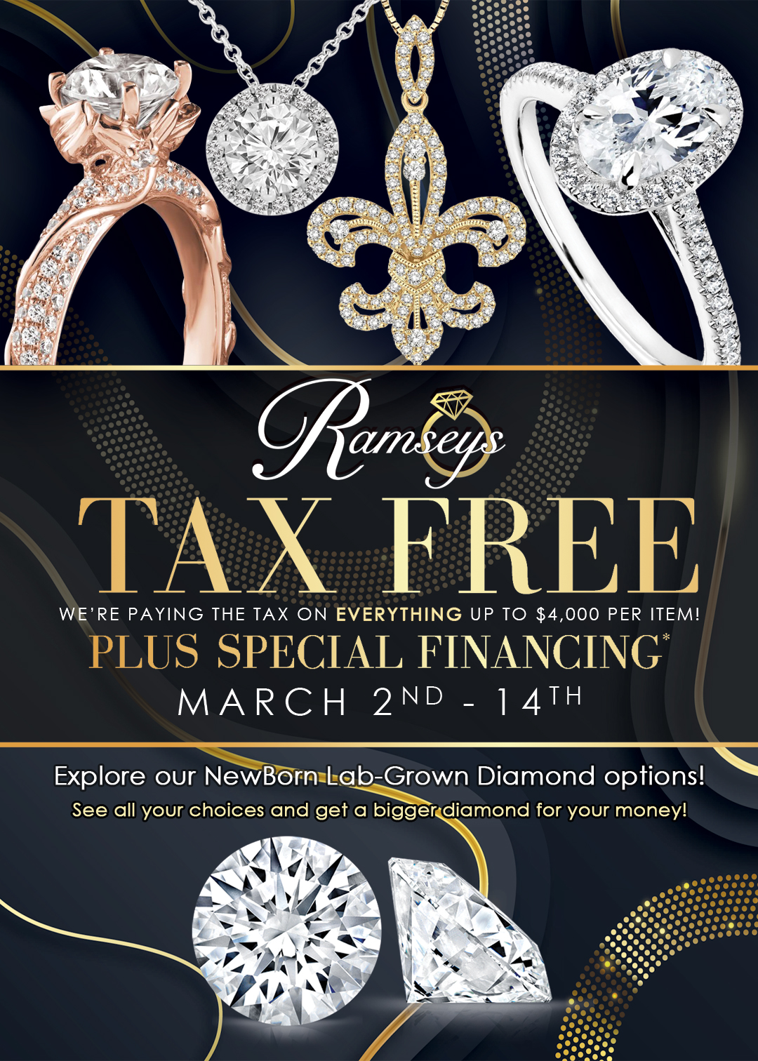 Ramsey's 2020 Tax Free Event